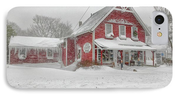 The 1856 Country Store On Main Street In Centerville On Cape Cod Phone Case by Matt Suess
