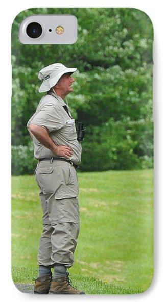 The Birdwatcher Phone Case by Paul Ward