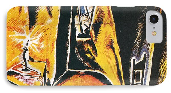 The Cabinet Of Dr Caligari Phone Case by Georgia Fowler