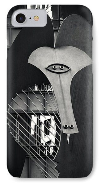 The Chicago Picasso IPhone Case by Adam Romanowicz