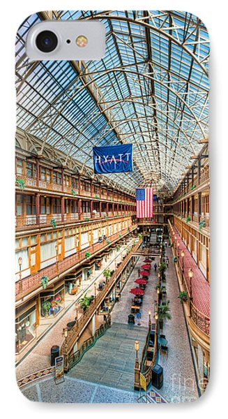 The Cleveland Arcade I Phone Case by Clarence Holmes