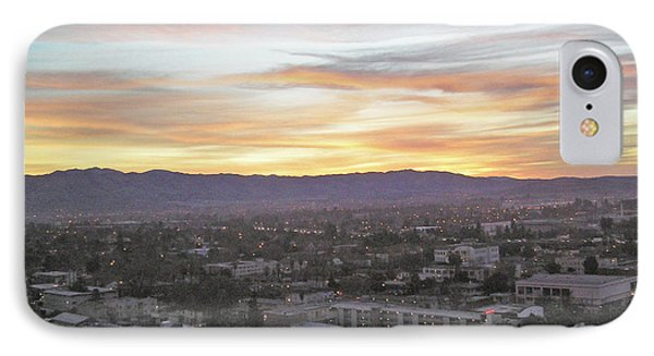 The Colors Of The Sky Over San Jose At Sunset Phone Case by Ashish Agarwal