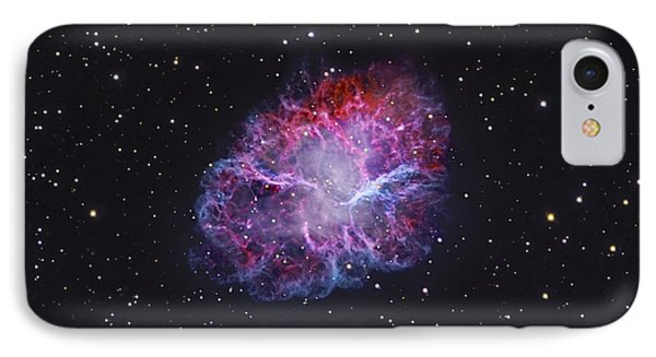 The Crab Nebula IPhone Case by Robert Gendler