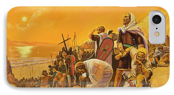 The Crusades IPhone Case by Gerry Embleton