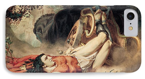 The Death Of Hippolyte IPhone Case by Sir Lawrence Alma-Tadema