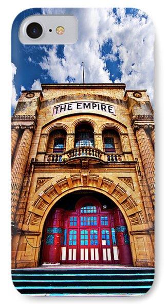 The Empire Theatre Phone Case by Meirion Matthias