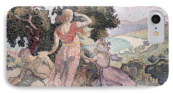The Excursionists Phone Case by Henri-Edmond Cross