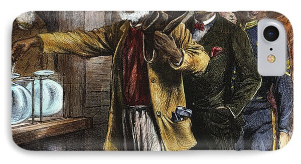 The First Vote, 1867 Phone Case by Granger