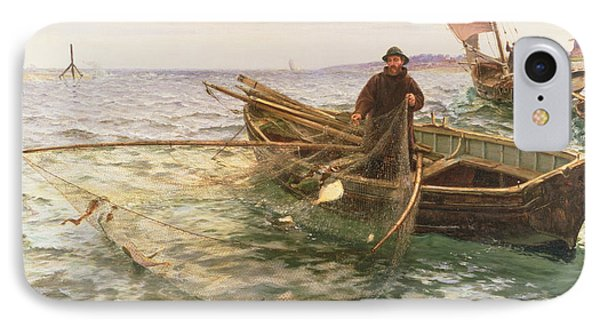 The Fisherman Phone Case by Charles Napier Hemy