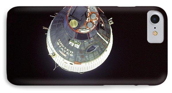 The Gemini 7 Spacecraft Phone Case by Stocktrek Images