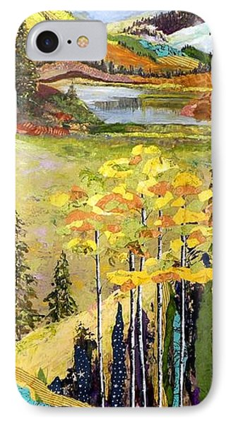 The Gore Range Phone Case by Saundra Lane Galloway