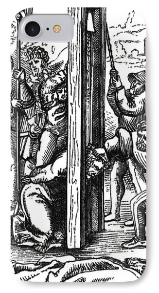The Guillotine, 18th Century Phone Case by Science Source