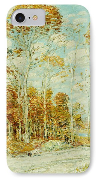 The Hawk's Nest Phone Case by Childe Hassam