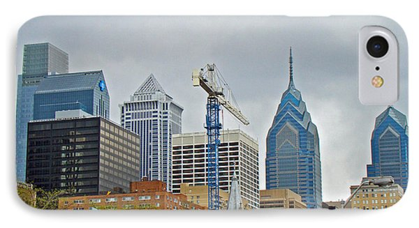 The Heart Of The City - Philadelphia Pennsylvania IPhone Case by Mother Nature