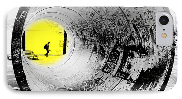 The Light At The End Of The Tunnel Phone Case by Valentino Visentini