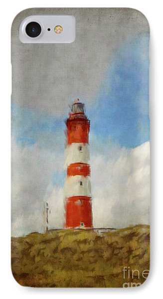 The Lighthouse Amrum IPhone Case by Angela Doelling AD DESIGN Photo and PhotoArt
