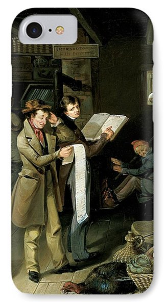 The Long Bill IPhone Case by James Henry Beard
