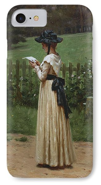 The Love Letter IPhone Case by Edmund Blair Leighton