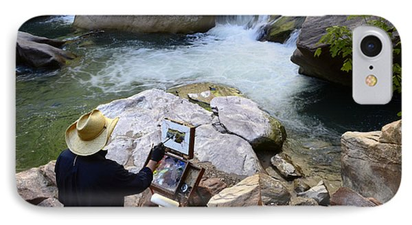 The Narrows Quality Time Phone Case by Bob Christopher