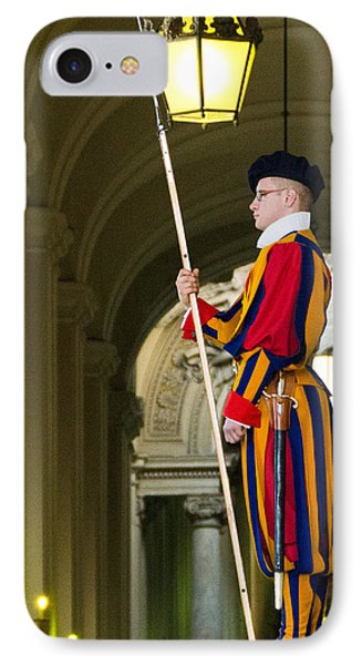The Papal Swiss Guard Phone Case by Jon Berghoff
