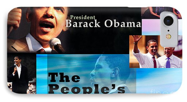The People's President IPhone 7 Case by Terry Wallace
