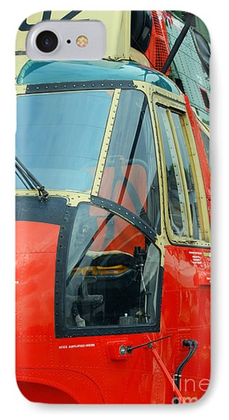 The Sea King Helicopter Used Phone Case by Luc De Jaeger