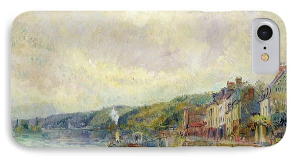 The Seine At Croisset Phone Case by Albert Charles Lebourg