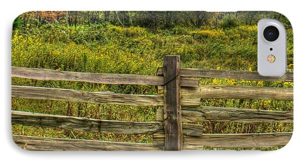 The Split Rail Meadow Phone Case by Benanne Stiens