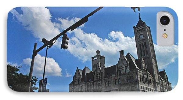 The Trainstation Nashville IPhone Case by Susanne Van Hulst