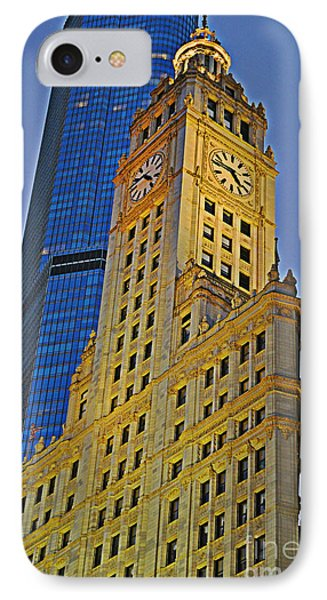 The Wrigley Building Phone Case by Mary Machare