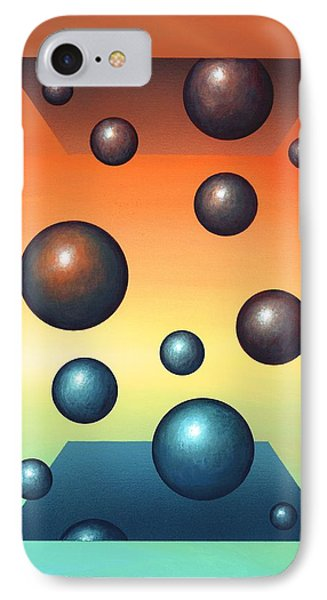 Thermodynamics, Conceptual Artwork Phone Case by Richard Bizley
