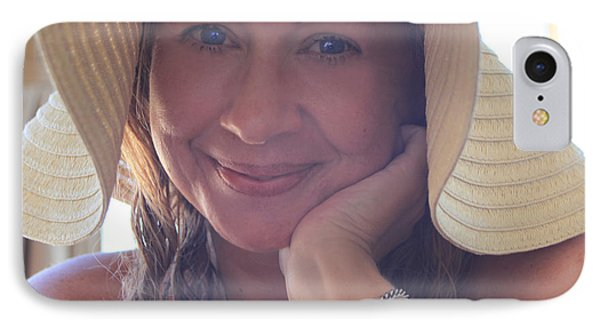 This Smile Was For You IPhone Case by Laurie Search