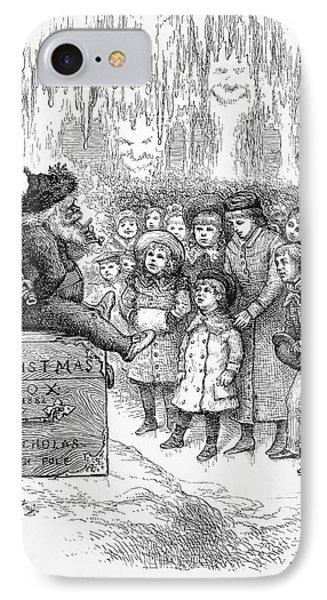 Thomas Nast: Christmas Phone Case by Granger