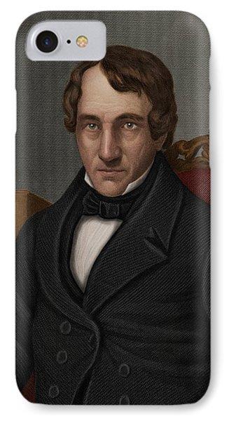 Thomas Thomson, Scottish Chemist Phone Case by Maria Platt-evans