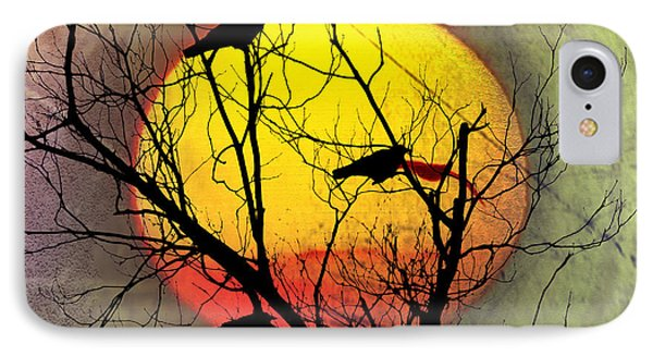 Three Blackbirds IPhone 7 Case by Bill Cannon
