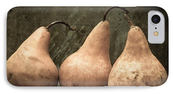 Three Pear IPhone Case by Edward Fielding