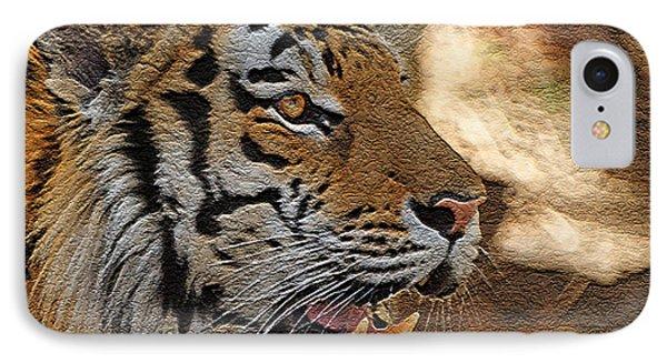 Tiger De Phone Case by Ernie Echols