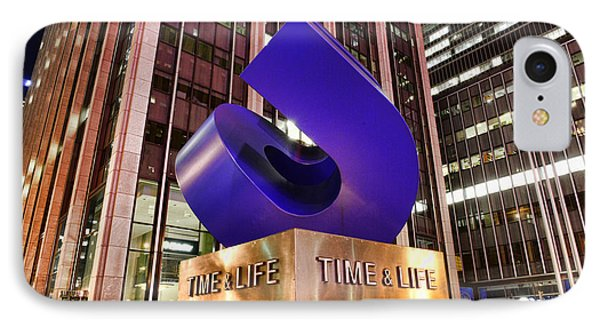 Time And Life Curved Cube Phone Case by Paul Ward