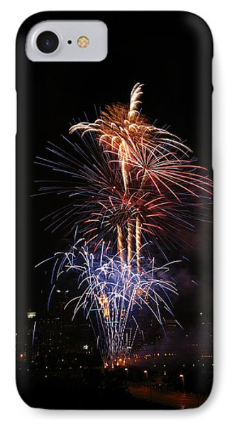 Tower Of Fire Power Phone Case by Heidi Hermes