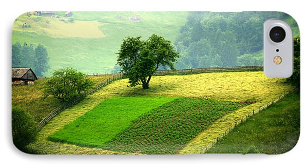 Tree And Field Phone Case by Emanuel Tanjala