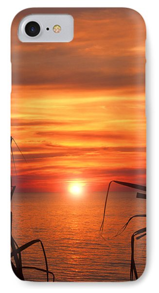 Tropical Sunset V6  Phone Case by Douglas Barnard