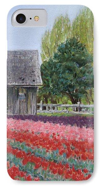 Tulip Season Phone Case by Marie-Claire Dole