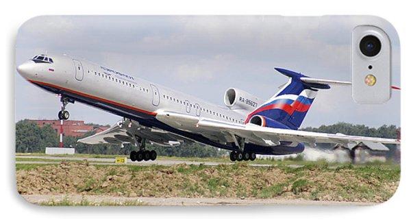 Tupolev 154 Aircraft, Russia Phone Case by Ria Novosti
