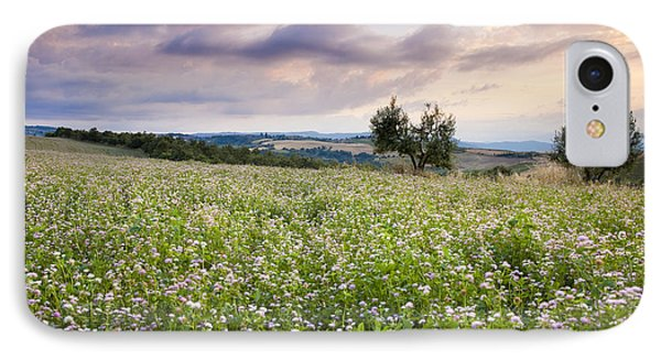 Tuscany Flowers Phone Case by Brian Jannsen