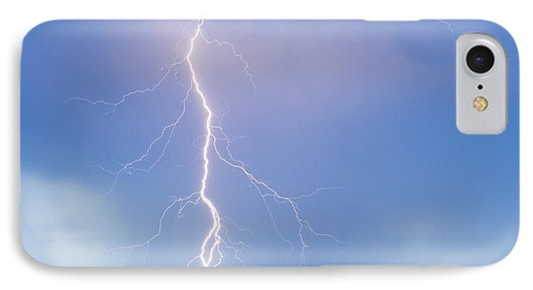 Twisted Lightning Strike Colorado Rocky Mountains IPhone Case by James BO  Insogna