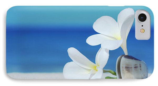 Two Flowers IPhone Case by MotHaiBaPhoto Prints