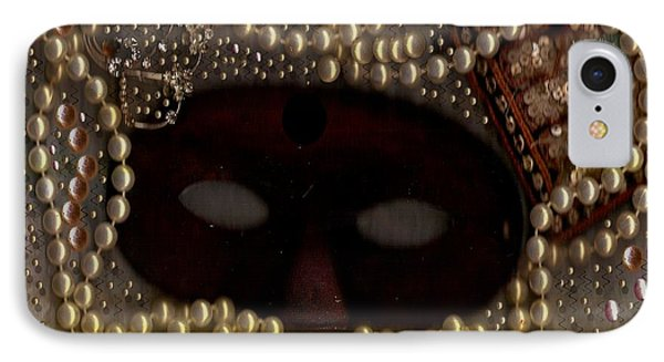 Unmask You Masquerades Dont Last Forever Phone Case by Pepita Selles