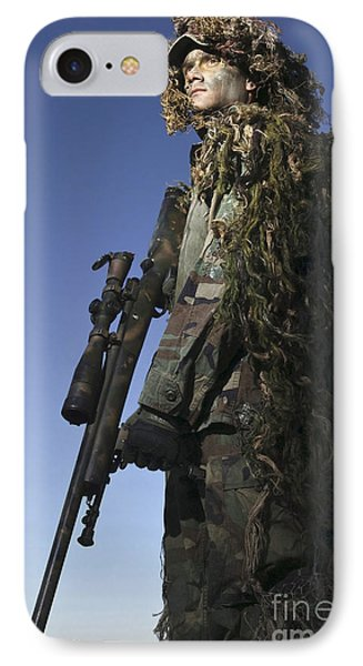 U.s. Air Force Sharpshooter Dressed Phone Case by Stocktrek Images