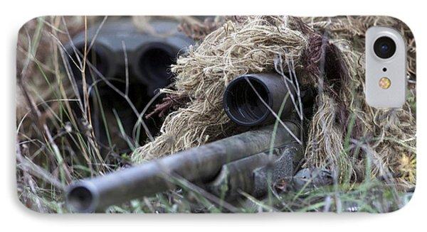 U.s. Marines Practice Stalking Phone Case by Stocktrek Images