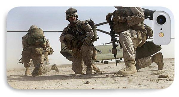 U.s. Marines Unloading Phone Case by Stocktrek Images